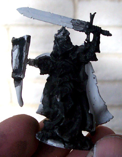 dragonborn miniature conversion blackwash