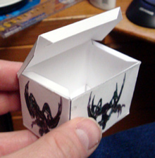 fold glue paper miniature